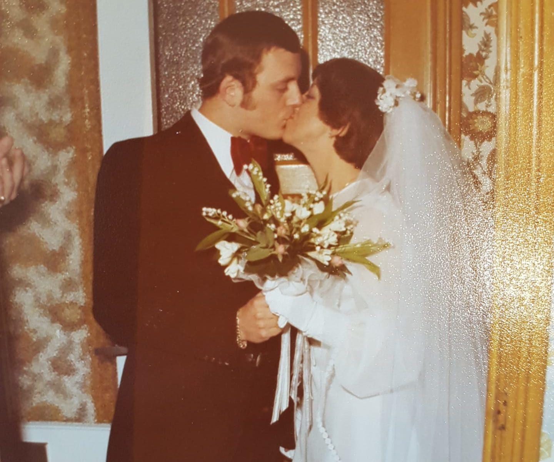 Le jour de notre mariage...